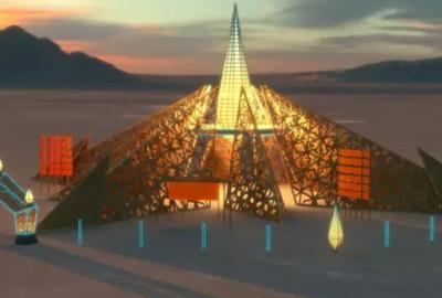 Burning Man reveals 2020 temple design